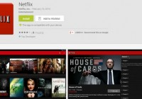 Netflix application on Android