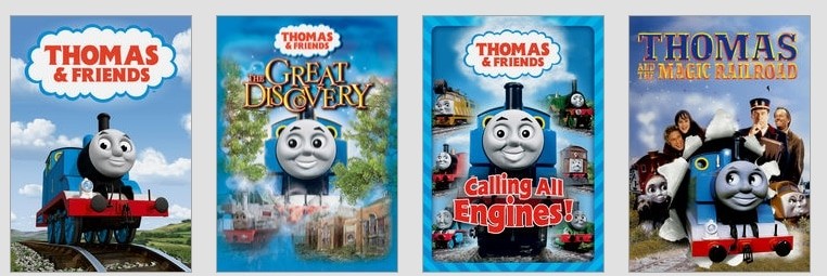 Thomas and Friends on Netflix