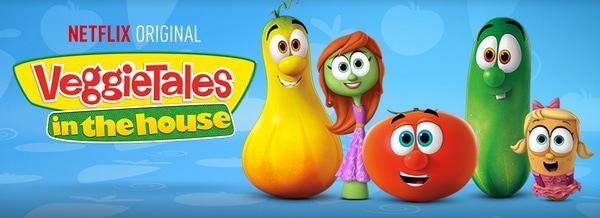Veggietales on Netflix