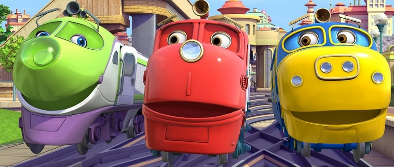 Chuggington on US Netflix