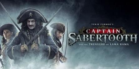 Captain Sabertooth on Netflix