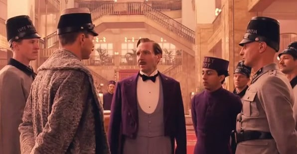 The Grand Hotel Budapest on Netflix