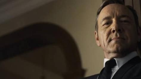 House of Cards season 4 on Netflix