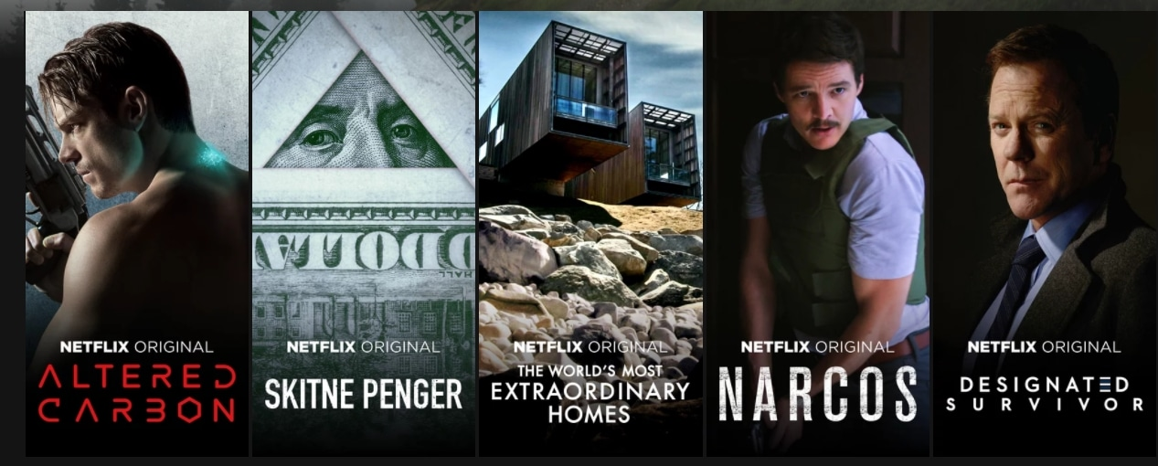 Some of this stuff truly is Netflix Original content, while other stuff isn't. What's the difference?