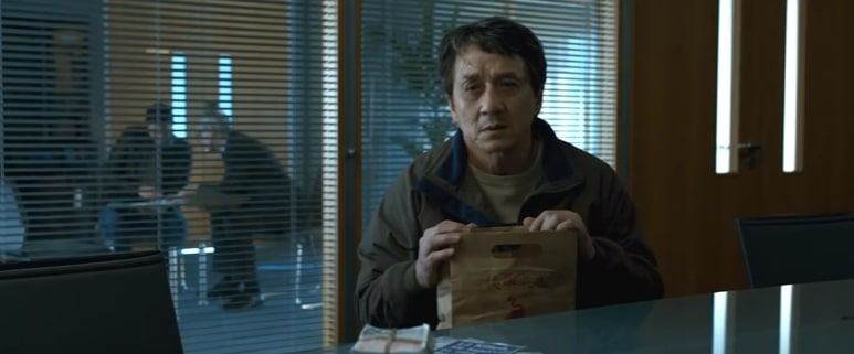Jackie Chan is hunting down the bad guys in The Foreigner