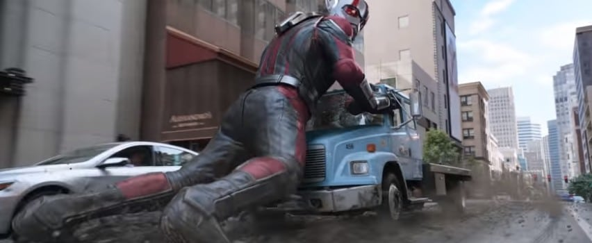 Ant-Man turns really big
