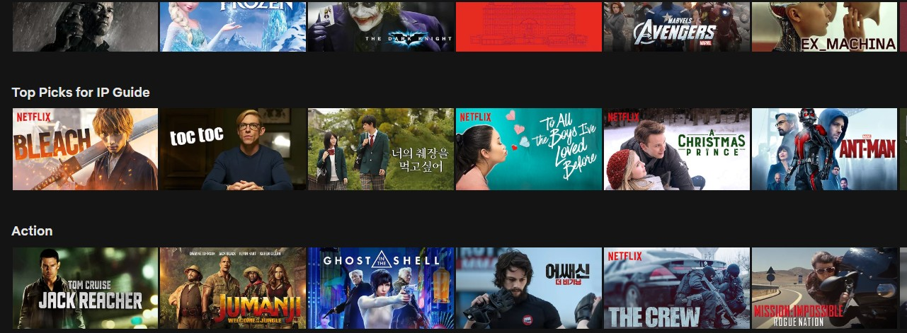 Get access to South Korean Netflix
