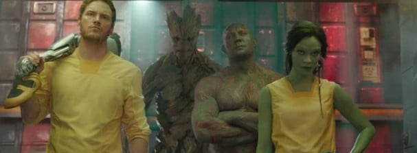 This is the crew guarding the galaxy in Guardians of the Galaxy