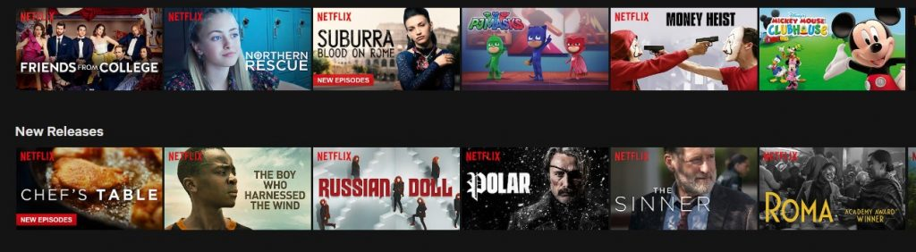 Enjoy all the content on American Netflix on your Fire TV