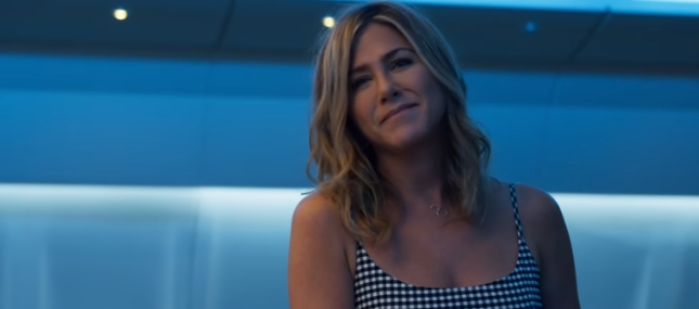 Jennifer Aniston in the upcoming Netflix original movie named Murder Mystery