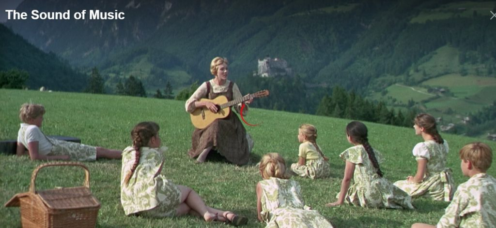 Get ready to watch The Sound of Music on Netflix