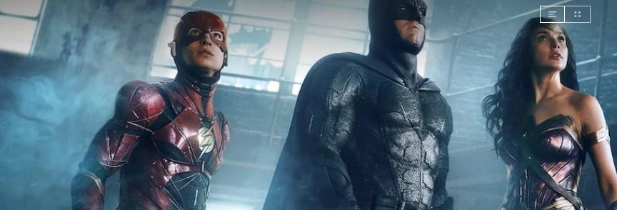 Justice League on German Netflix