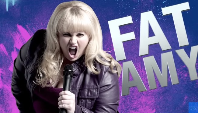 You can watch Rebel Wilson as Fat Amy in Pitch Perfect on Netflix
