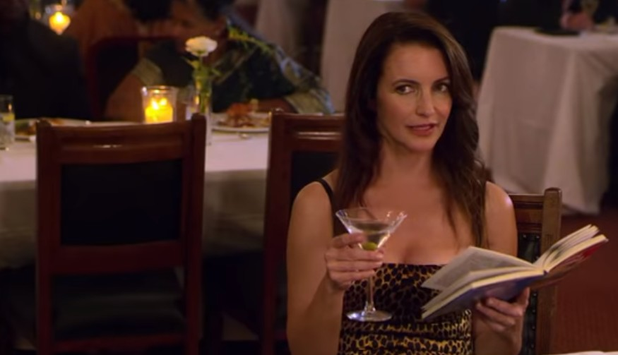 Kristin Davis in Holiday in the Wild on Netflix