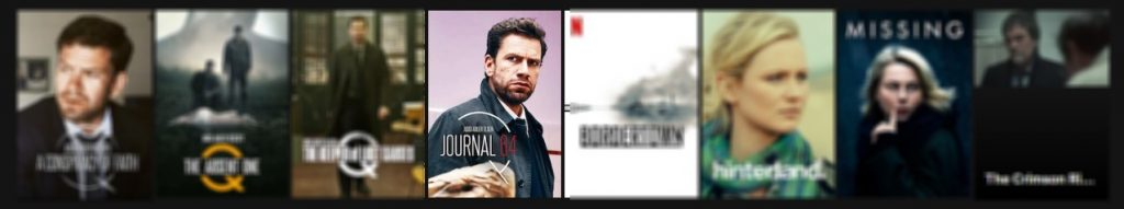Here I have discovered Journal 64 on Netflix, together with the other Department Q movies.