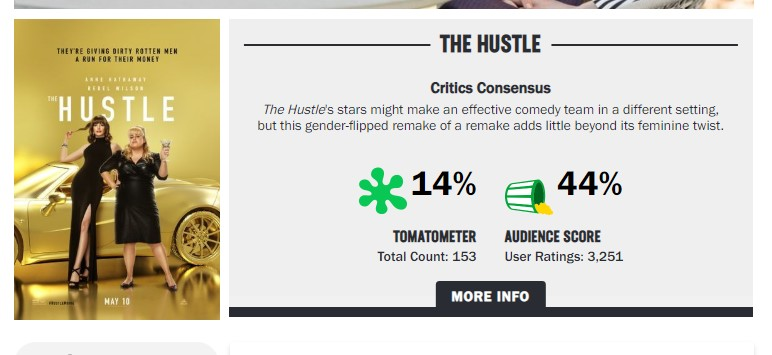 Is The Hustle worth watching