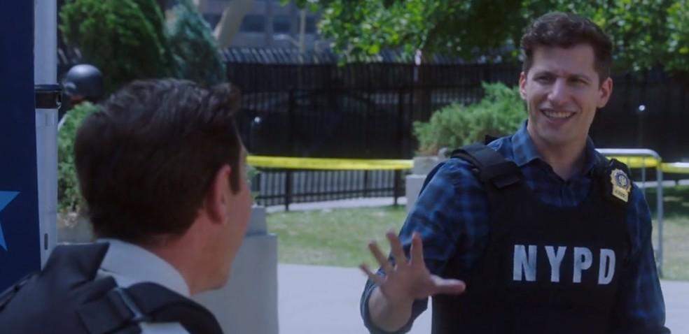 Jake Peralta in Brooklyn Nine-Nine season 7