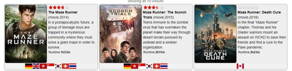 Maze Runner on Netflix