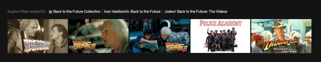 Back to the Future streaming online