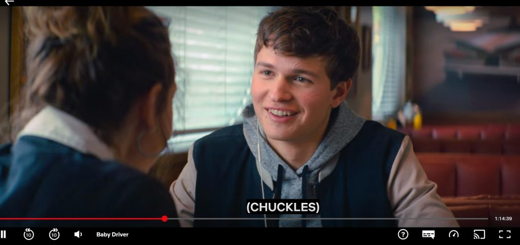 baby driver on german netflix with ivacyvpn